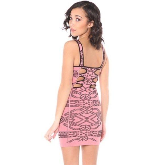 Free People Dresses & Skirts - Free People Intimately Intarsia Bodycon Dress M/L